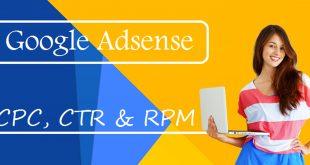 গুগল অ্যাডসেন্স টিউটোরিয়াল - অ্যাডসেন্স এ CPC, Page RPM ও Page CTR কি?